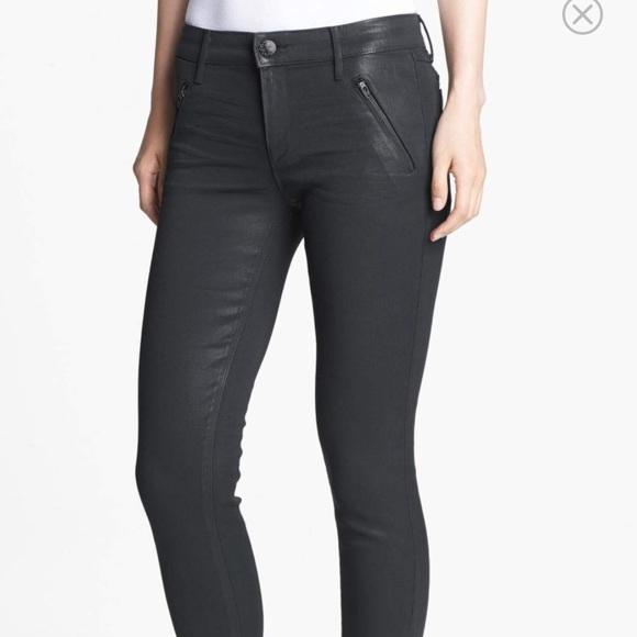 Skinny Coated Black JeansAmalia Habitual Poshmark j5RqLc43AS